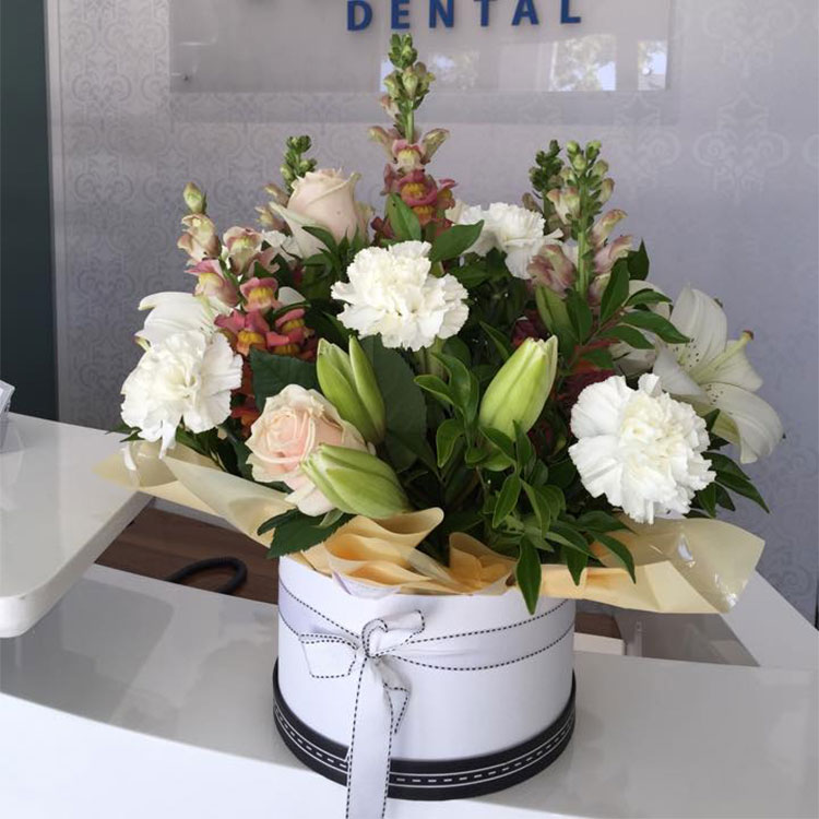 Another beautiful flower arrangement from Medland Orthodontics